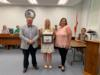 Emily Morris, ESE teacher at Everglades Elementary, was recognized for receiving the golden mouse award for the fourth quarter.