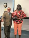 Jessie Mae retired with 28 years of service.