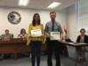 Students from Mr. Leidy's class were recognized for placing in the IRSC Creative Writing Contest.
