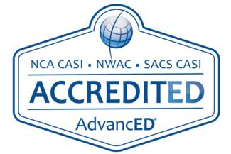 District Accreditation Logo AdvancED