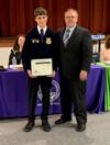 Students were recognized for their participation in the National FFA AgriScience Fair.