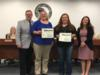 Bookkeepers from OFC, OAA, OMS, SEM, YMS and EES were recognized for having perfect internal audits at their schools.