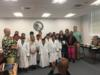 Raulerson Hospital was recognized for their support of our Science Olympiad teams from Seminole Elementary and Central Elementary.  Raulerson Hospital invited our teams to the hospital for a visit as well as provided the team with white lab coats.  Sharon Suits and Lynn Greeson were also recognized for their help in preparing the team for competition in May.