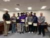 The Okeechobee High School Boys Basketball Team was recognized for their season and making it at District Champions.