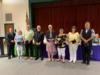 Several teachers, administrators and staff members were recognized for their years of service to the Okeechobee County School Board.