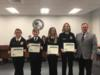 The OMS FFA Livestock Evaluation team was recognized for placing fifth in the state FFA competition.