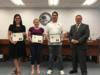 MidFlorida Credit Union, Okeechobee Chamber of Commerce and Papa John's Pizza were recognized for their support and donations during the teachers' pre-plan week.