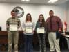 The 4-H Meat Judging Team was recognized for placing 2nd in the state competition.