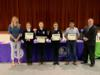 The Yearling Middle School Poultry Judging Team was recognized for their 3rd place in the state competition.