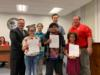 Okeechobee County Schools has created student Crime Watch groups at each school and the a member from that team was presented with a certificate along with Sheriff Stephen.