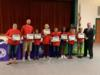 Students were recognized for their participation in the Science Olympiad.