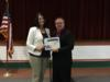 Lauren Myers, Assistant Principal of Okeechobee High School, was honored as being voted the district Assistant Principal of the Year. Congratulations Lauren!