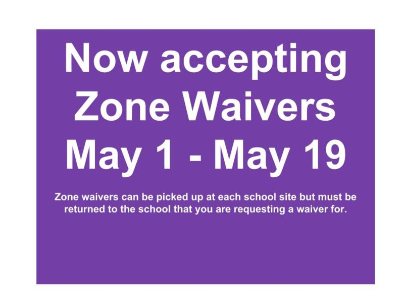 Zone Waivers