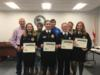 The YMS Dairy Evaluation team was recognized for their State Championship by coming in first place in the state FFA competition.  The McGehee Family was recognized as well for their coaching and help in preparing the team for the competition.