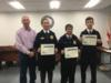 The YMS Tool Identification team was recognized for placing second in the state FFA competition.