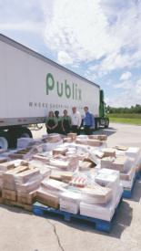 School supplies donated by Publix