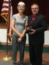 Dorothy Wright was recognized for her service to Okeechobee County Schools and her retirement at the end of this month.