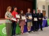 Students were recognized for their participation in the State Science and Engineering Fair.